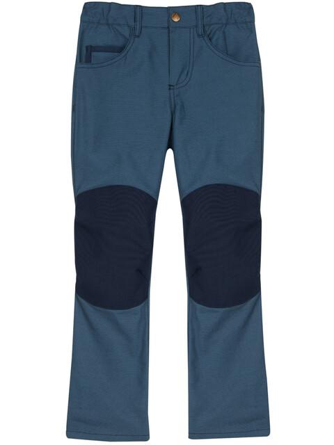 Finkid Kuusi Canvas - Pantalon Enfant - bleu